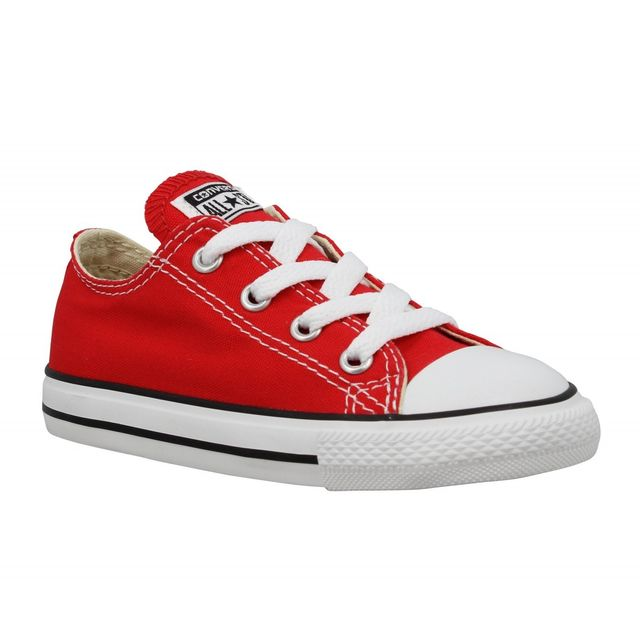 Chuck Taylor All Star toile Enfant 31 Rouge