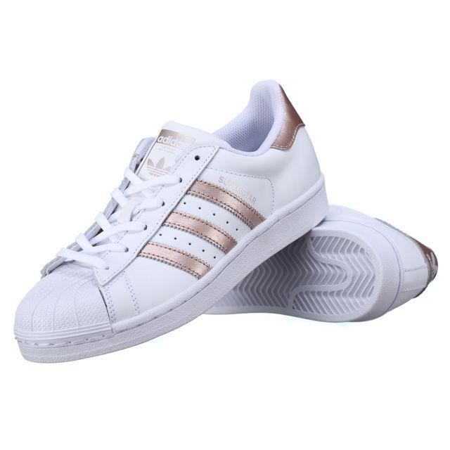 Adidas - Basket Superstar W Ba8169 Blanc