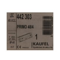 Kaufel - 442303 - Baie secours Lsc / Np-p - Primo 48/4 - P: 80Lm / Np : 60Lm - Ip41