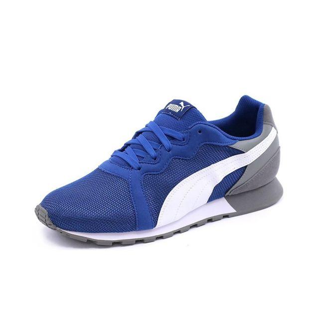 717d494bf7d81 Puma - Chaussures Pacer Bleu Homme - pas cher Achat   Vente Baskets homme -  RueDuCommerce