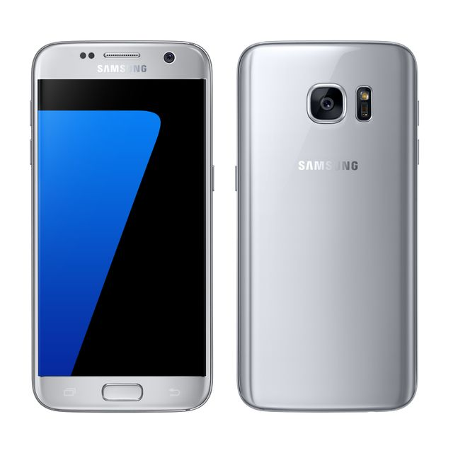 samsung galaxy s7 silver pas cher achat vente smartphone android android rueducommerce. Black Bedroom Furniture Sets. Home Design Ideas