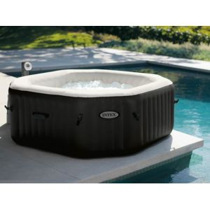 Intex spa gonflable purespa octogonal bulles jets 6 pl - Spa gonflable intex pas cher ...