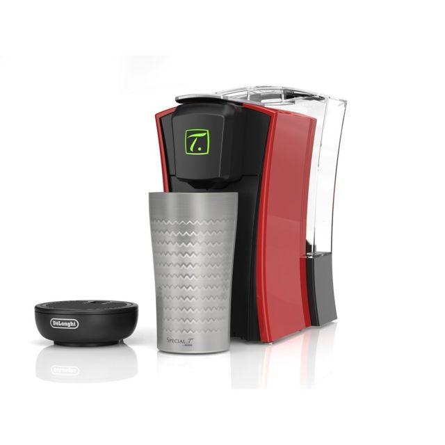 De'Longhi Machine à thé SPECIAL T - TST400.R - Noir/Rouge