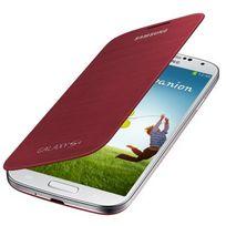 Samsung - Couverture de livre Ef-fi950BR Rouge Galaxy S4