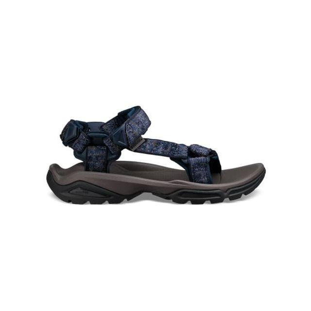 teva sandales terra fi bleu fonc pas cher achat vente sandales de marche rueducommerce. Black Bedroom Furniture Sets. Home Design Ideas