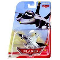 Planes - Disney : Avion Gris Bravo - Avion de chasse - N°X9462 - Cars