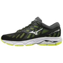 low priced fa2b5 b8286 Mizuno - Wave Ultima 11 Noire Et Jaune Chaussures de running homme