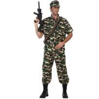 Atosa - Déguisement De Militaire - Homme - Taille : L