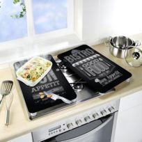 protege plaques de cuisson achat protege plaques de cuisson pas cher soldes rueducommerce. Black Bedroom Furniture Sets. Home Design Ideas