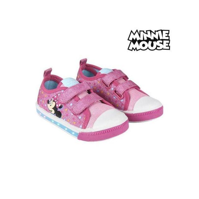 Minnie Baskets Casual avec Led Mouse 73620 Rose