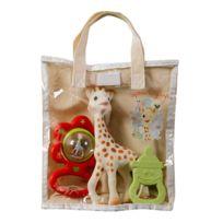 Vulli - Sac cadeau Sophie la Girafe avec hochet et anneau de dentition