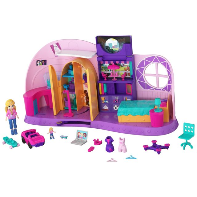 POLLY POCKET Maison Mini-Figurine - La Chambre Métamorphose - FRY98