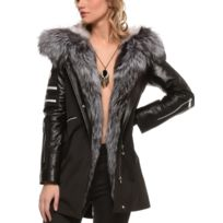 latest fashion official supplier online retailer Veste col fourrure femme - catalogue 2019/2020 - [RueDuCommerce]