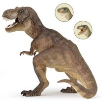 Papo - Figurine Dinosaure : Tyrannosaure : Brun