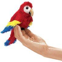 Folkmanis - Puppets - 2723 - Marionnette Et ThÉÂTRE - Mini Scarlet Macaw