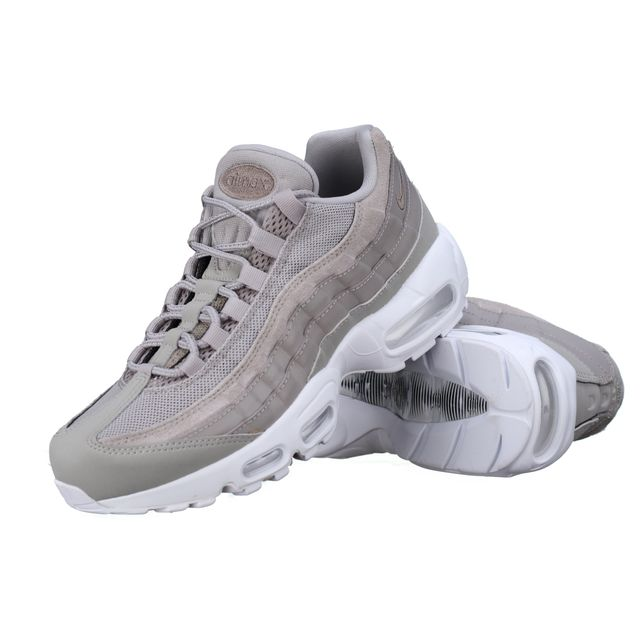 fa797ad0e922dc Nike - Basket Air Max 95 Prm 538406 - 005 Gris - pas cher Achat   Vente  Baskets homme - RueDuCommerce