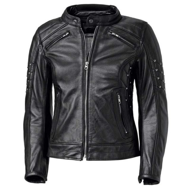 Held Blouson moto cuir femme Roxanne Noir 38 Neuf pas