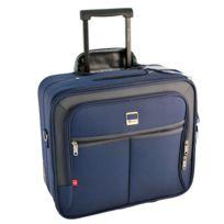 Benzi - Pilot-Case trolley - Bleu marine- valise pour ordinateur