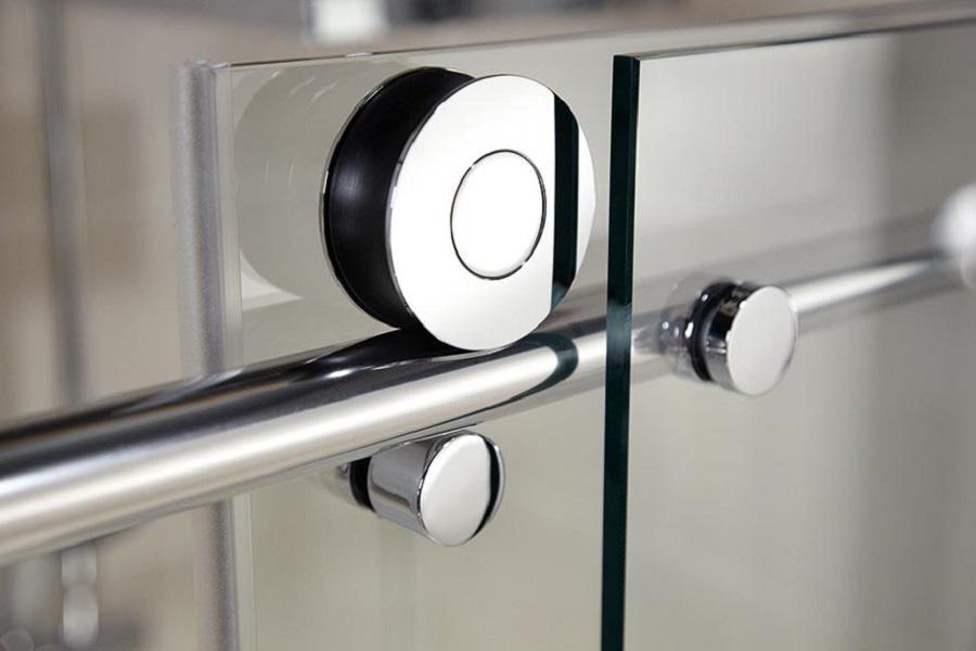 Portes de douche coulissantes, 160 x 200 cm