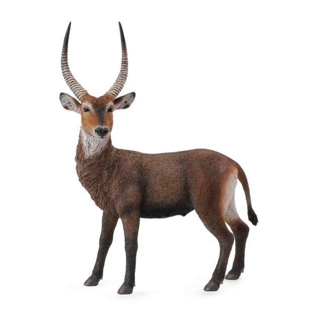 Figurines Collecta Figurine : Animaux sauvages : Cobe à croissant Antilope