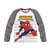 Spiderman - Garcon Tee-shirt manches longues
