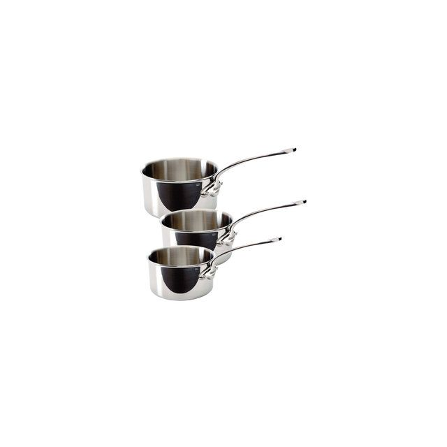 Mauviel - Coffret De 3 Casseroles M Cook 16, 18 Et 20 Cm
