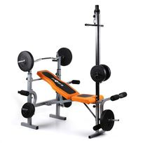 KLARFIT - Ultimate Gym 3500 Banc d'entraînement Curler <250kg
