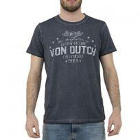 Vondutch - Tee shirt Stars gris Homme Von Dutch