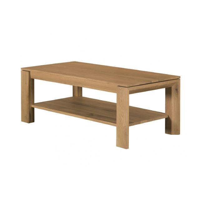 b0177ea08e976 HELLIN - Table basse moderne FILIGRAME en bois