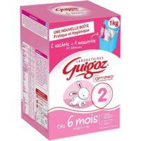 Guigoz - Lait en Poudre 2 eme Age Bag In Box 2x500g