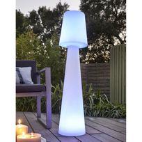 New Garden - Lampadaire extérieur Led multicolore sans fil en polyéthylène Lola - 110cm