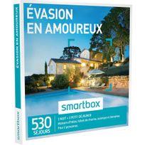 Smartbox - Évasion en amoureux - 530 séjours partout en France ou en Europe : maisons dhôtes, hôtels de charme, auberges et domaines - Coffret Cadeau