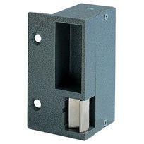 Eff Eff - Gache Electrique Applique Aluminium - Pour Serrure Horizontale - Sens:Gauche - Mode:Emission - Tension:12 V