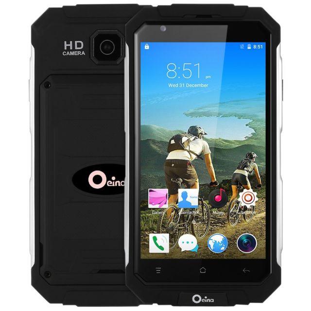 Auto-hightech Smartphone 3G avec 5.0 pouces, android 5.1 et capteur de gravité - noir