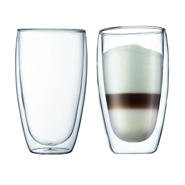 BODUM PAVINA Set 2 verres, double paroi, 0.45 l