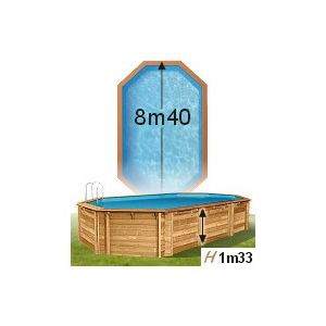 piscine center o 39 clair piscine odyssea cerland 840 x 489 x 133 cm liner gris pas cher achat. Black Bedroom Furniture Sets. Home Design Ideas