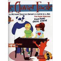 Jjrebillard - Le clavier facile methode pour enfants +CD Benichou Pierre