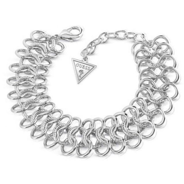 39ab16d7edd1 Guess - Bracelet Ubb84002 - Bracelet Métal Argent Femme - pas cher ...