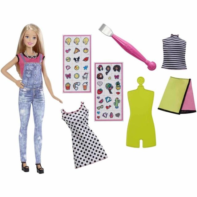 Barbie - Set de jeu de poupée D.I.Y. Dyn93 - pas cher Achat   Vente Poupées  - RueDuCommerce 4fa839006360