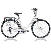 Lombardo - Vélo De Ville Dame Mirafiori 250 6 Vit. Blanc/gris 2016
