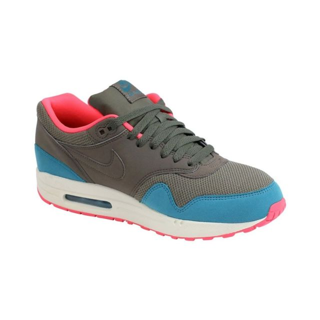 Nike Chaussures Air Max 1 Essential Homme Gris 40.5 pas