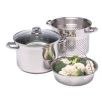 Kitchen Craft - Clearview Cuiseur vapeur Acier inoxydable 7,5 litres Import Grande Bretagne