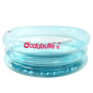 Badabulle baignoire piscine gonflable bleu pas cher for Piscina bebe carrefour