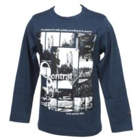 Rms26 - Tee shirt manches longues Rms 26 Central marine ml tee jr Bleu 25987