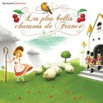 Editions Eponymes - Compilation - Les plus belles chansons de France DigiPack