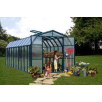 Rion - Serre de jardin polycarbonate Cezanne 258 x 507 x 251cm
