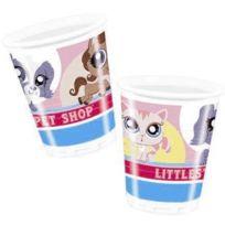Sans - 8 gobelets Pet Shop - taille - Taille Unique - 204453