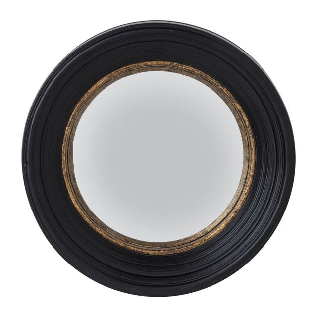 Karedesign Miroir Convex noir 52cm Kare Design