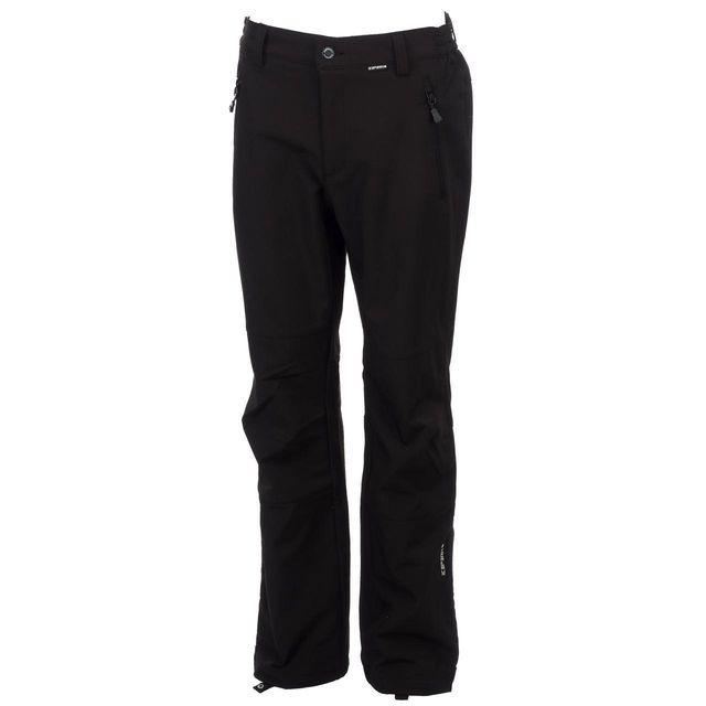 Ice Peak - Pantalon de ski surf Icepeak Ripa ii nr softshell pant Noir 70690