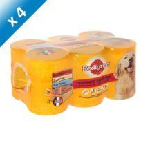 Pedigree - Terrines saveurs boeuf poulet et agneau pour chien 6 x 410g -4